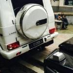 Cặp xe sang Mercedes G500 2017 cùng nơi bán đâm vào nhau