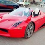 """Siêu xe Pagani Huayra """"nhái"""" ở Trung Quốc giá 120 triệu đồng"""