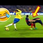 Những pha bóng đá hài hước không thể nhịn cười