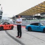 Chương trình đào tạo lái xe cho báo chí của Porsche