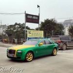 Rolls royce Ghost 10 tỷ độ Dubai của đại gia Ninh Bình trên phố