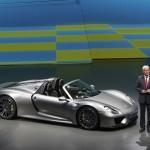 Siêu xe triệu đô Porsche 918 Spyder bị lỗi phải triệu hồi