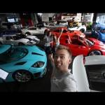 Choáng showroom bán siêu xe khủng nhất thế giới ở Dubai
