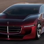 Xe siêu sang Mercedes phong cách xe đua