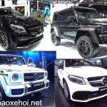Ngắm 6 siêu xe SUV hiệu suất cao của Mercedes AMG