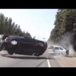 Xe ô tô phóng quá nhanh tông chết người đi xe máy