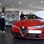 Tiền đạo Mario Balotelli mua siêu xe Alfa Romeo Giulia Quadrifoglio