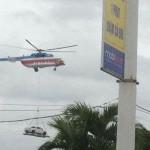 Xe bán tải được vận chuyển bằng máy bay trực thăng về Lào Cai ?