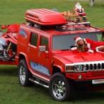 Dàn siêu xe khủng chào đón Giáng sinh của đại gia trên phố