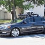 Hãng google hợp tác Honda phát triển xe tự lái