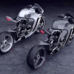 Vẻ đẹp siêu xe mô tô Huge Moto Monoracr concept