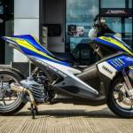 Xe mô tô Yamaha Aerox 155 độ đẹp khác biệt