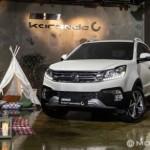 Xe SUV cỡ nhỏ SsangYong Korando 2017 ra mắt