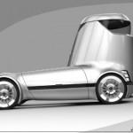Siêu xe tải Mercedes E-Truck thiết kế lạ mắt