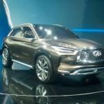 Ngắm xe sang Infiniti QX50 2017 so găng cùng Mercedes GLC