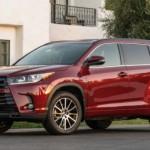 Xe SUV Toyota Highlander 2017 đạt danh hiệu an toàn cao