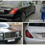 Xe siêu sang Maybach S600 và Rolls royce dạo phố Lào Cai