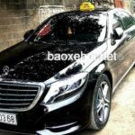Xôn xao xe sang Mercedes S400 làm taxi ở Phú Thọ ?