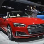 Xe công suất lớn Audi S5 mui trần ra mắt tại triển lãm detroit 2017