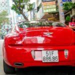 Siêu xe Bentley Continental GT màu đỏ độ đẹp