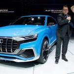 Audi Q8 cạnh tranh trực tiếp với Bentley Bentayga và BMW X7