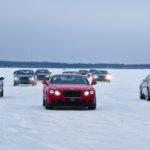 Mua xe Bentley được đi du lịch, lái xe trên băng ở Phần Lan