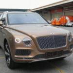 Ngắm xe siêu sang Bentley Bentayga trên phố Hà Nội