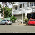 Ferrari F12 độ DMC và Mercedes-AMG C63 S của Cường đôla nẹt pô