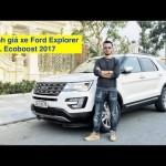 Đánh giá xe Ford Explorer 2016 mang biển số Hải Dương