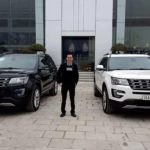 Cặp xe sang Ford Explorer mới của đại gia Thanh Hóa