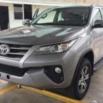 """Xe SUV """"bình dân"""" Toyota Fortuner 2017 giá rẻ, nhiều nâng cấp"""
