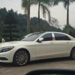 Xe siêu sang Maybach S600 giá 14 tỷ trên phố Lào Cai