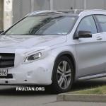 Xe sang Mercedes GLA bản nâng cấp 2018 trên đường thử