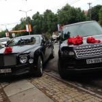 Ngắm cặp xe Range Rover 6 tỷ đồng và Bentley rước dâu ở Nghệ An