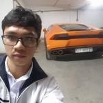 Ngắm siêu xe Lamborghini Huracan mới xuất hiện ở Lào Cai