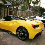 Siêu xe Lamborghini Aventador và Ferrari ở Phú Thọ chung 1 chủ ?
