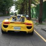 Siêu xe Porsche 918 Spyder của đại gia Nhật mang biển đẹp