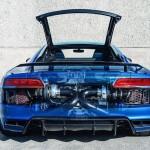 Ngắm siêu xe Audi R8 V10 2017 độ công suất 1250 mã lực