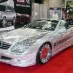 Những siêu xe giá trăm tỷ gắn kim cương, đá quý, vàng