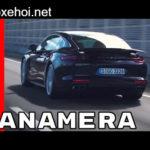 Vẻ đẹp và sự hiện đại của xe sang Porsche Panamera 2017