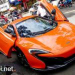 Ngắm siêu xe McLaren 650S Spider mới trên đường Sài Gòn