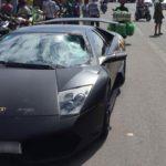 Siêu xe Lamborghini Murcielago SV gây tai nạn chết người