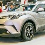 Xe nhỏ Toyota C-HR 2017 ra mắt ở Singapore