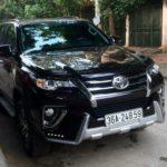 Xe Toyota Fortuner 2017 độ body kit đẹp ở Thanh Hóa