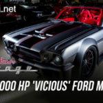 Ford Mustang cổ độ công suất 1000 mã lực của Jay Leno