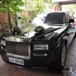 Xe Rolls royce Phantom EWB ở Hải Dương làm xe rước dâu