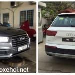 Cặp xe sang SUV cỡ lớn Audi Q7 giá 4 tỷ đồng ở Vĩnh Long
