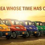 Xe ô tô Bajaj Qute mới giá chỉ từ 110 triệu đồng