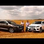 So sánh xe sang SUV cỡ lớn Audi Q7 và Mercedes GLS 2016