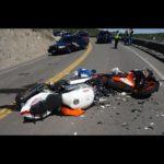 Xe mô tô phóng nhanh tông vào đuôi mô tô không kịp dừng